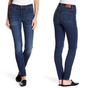 "• Madewell • 9"" High Rise Skinny Jeans Creston"